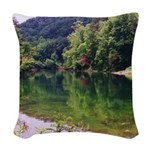Perfect View Woven Throw Pillow