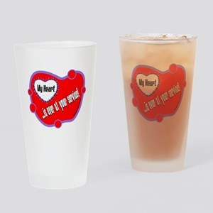 Ever At Your Service-Shakespeare Drinking Glass