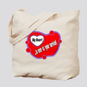 Ever At Your Service-Shakespeare Tote Bag