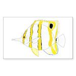 Copperband Butterflyfish Sticker