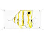 Copperband Butterflyfish Banner