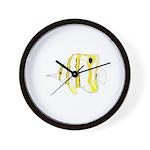 Copperband Butterflyfish Wall Clock