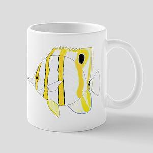Copperband Butterflyfish c Mugs