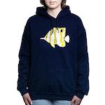 Copperband Butterflyfish c Hooded Sweatshirt