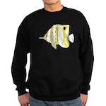 Copperband Butterflyfish c Sweatshirt