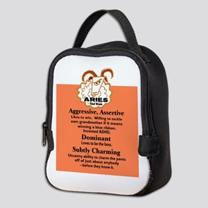 Aries-Zodiac Sign Neoprene Lunch Bag