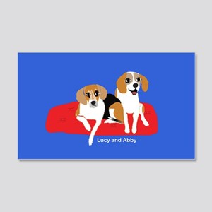 Lucy and Abby Wall Decal