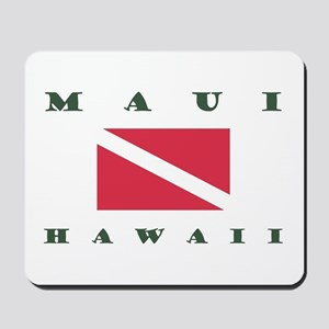 Maui Dive Flag Mousepad