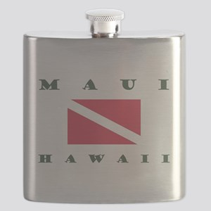 Maui Dive Flag Flask