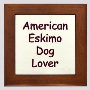 Eskimo Lover Framed Tile
