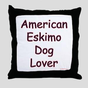 Eskimo Lover Throw Pillow
