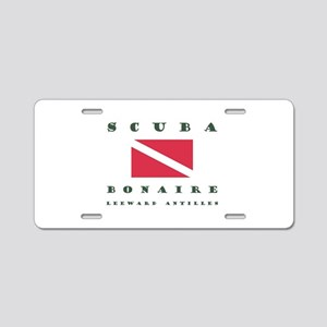 Bonaire Scuba Aluminum License Plate
