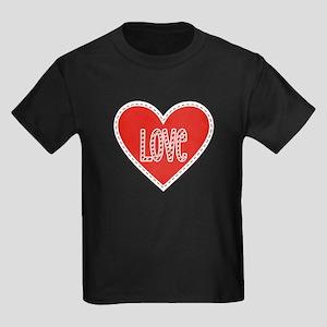 Love Valentines Day Heart 3 T-Shirt
