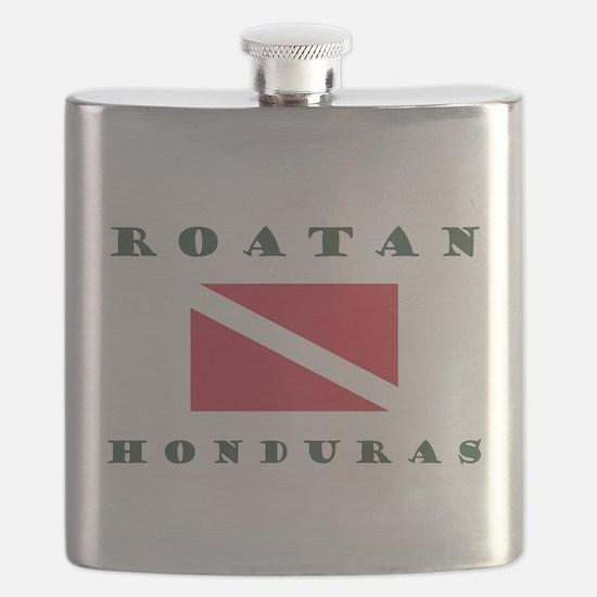 Roatan Dive Design Flask