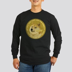 Dogecoin Long Sleeve T-Shirt