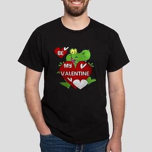 Crocodile Be My Valentine Dark T-Shirt