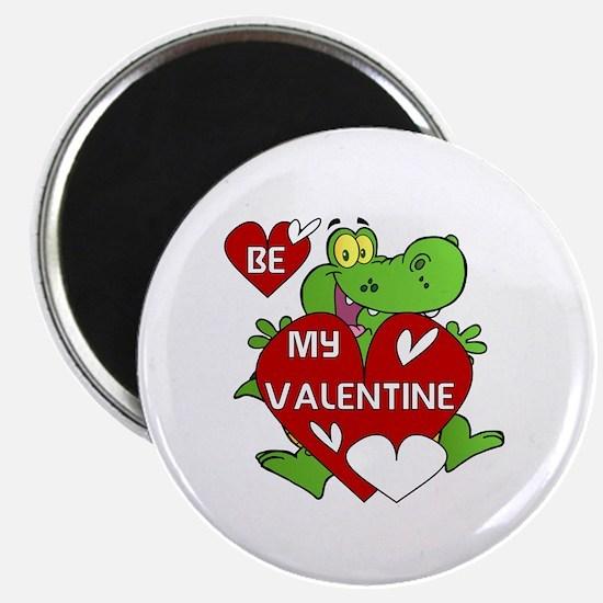 "Crocodile Be My Valentine 2.25"" Magnet (100 pack)"