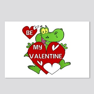 Crocodile Be My Valentine Postcards (Package of 8)
