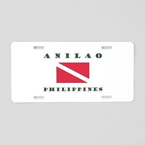 Anilao Dive Aluminum License Plate