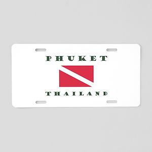 Phuket Dive Aluminum License Plate