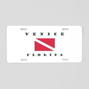 Venice Florida Dive Aluminum License Plate