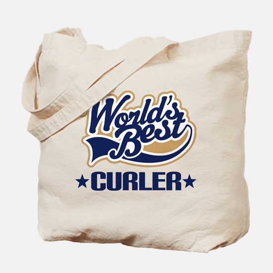 Curler (Worlds Best) Tote Bag
