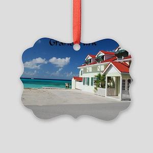 White Beach,Grand Turk Picture Ornament