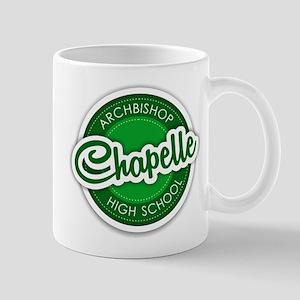 Archbishop Chapelle High School Logo Mugs