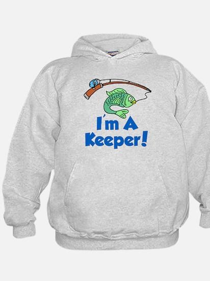 Im A Keeper Fish Hoodie