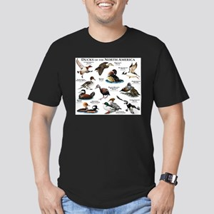 Ducks of North America Men's Fitted T-Shirt (dark)