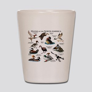 Ducks of North America Shot Glass
