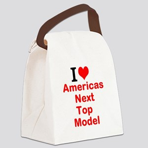 I Love Americas Next Top Model Canvas Lunch Bag