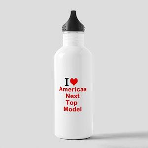 I Love Americas Next Top Model Water Bottle