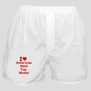 I Love Americas Next Top Model Boxer Shorts
