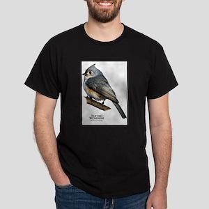 Tufted Titmouse Dark T-Shirt