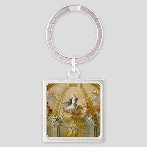 Placido Costanzi - Immaculate Conc Square Keychain