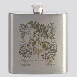 Vintage Flowers by Basilius Besler Flask