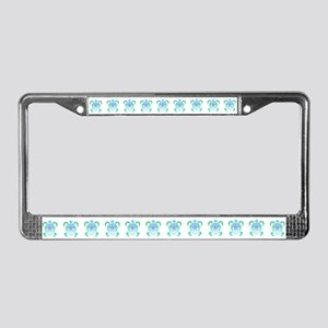 Tribal Turtle License Plate Frame
