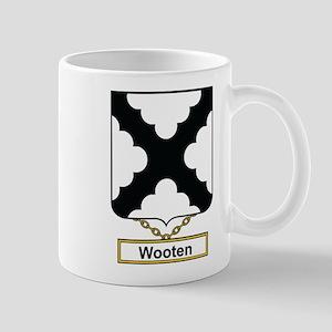 Wooten Family Crest Mugs