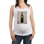 Vintage Glass Bottle Maternity Tank Top