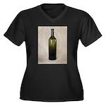 Vintage Glass Bottle Plus Size T-Shirt