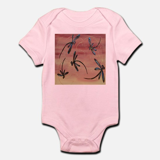 Dragonfly Pomegranate Body Suit