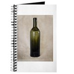 Vintage Glass Bottle Journal