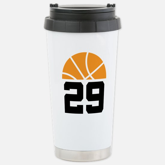 Basketball Number 29 Player Gift Stainless Steel T