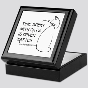 time with cats Keepsake Box