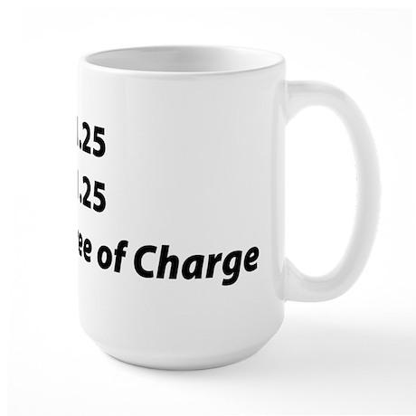 Free of Charge Large Mug
