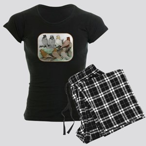 Classic Frill Pigeons Blondinettes Pajamas