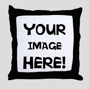 Customizable Image Throw Pillow