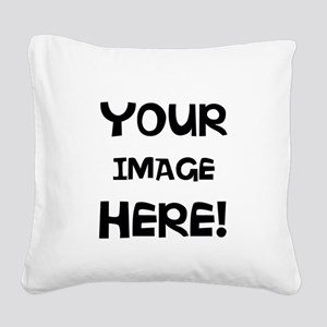 Customizable Image Square Canvas Pillow