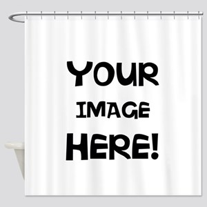 Customizable Image Shower Curtain